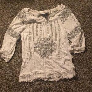 NWOT Inc white blouse